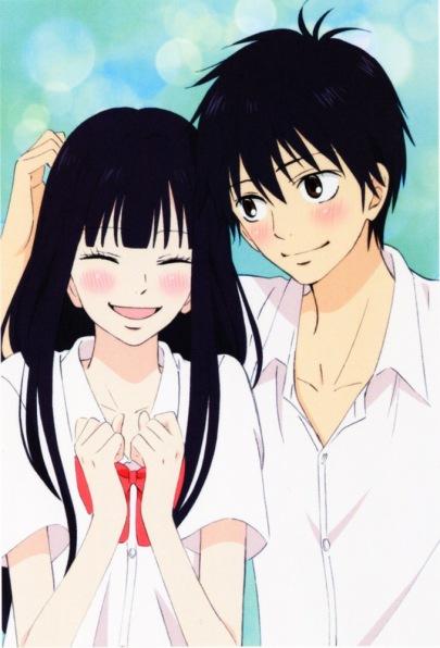 Image result for kimi ni todoke sawako and kazehaya